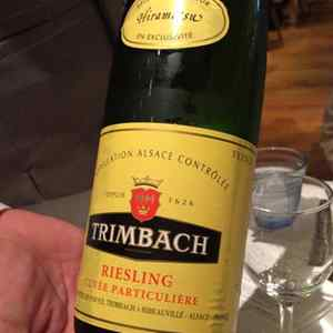 2011 Riesling Cuvée Particuliere Trimbach