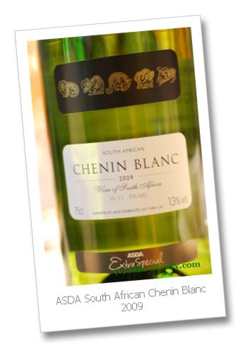 ASDA South African Chenin Blanc 2009
