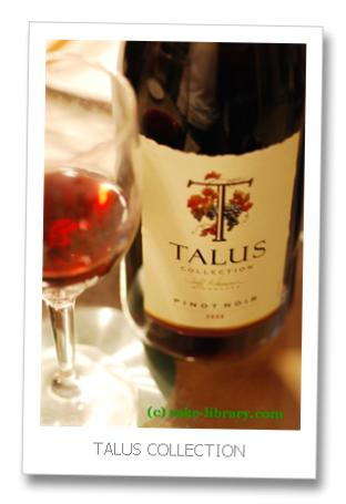 TALUS COLLECTION PINOT NOIR